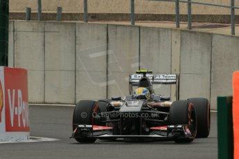 World © Octane Photographic Ltd. F1 Belgian GP - Spa-Francorchamps, Saturday 24th August 2013 - Practice 3. Sauber C32 - Esteban Gutierrez. Digital Ref : 0792lw1d9121