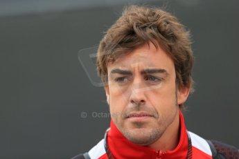 World © Octane Photographic Ltd. F1 Belgian GP - Spa-Francorchamps, Saturday 24th August 2013 - Paddock. Scuderia Ferrari F138 - Fernando Alonso. Digital Ref : 0791lw1d8337