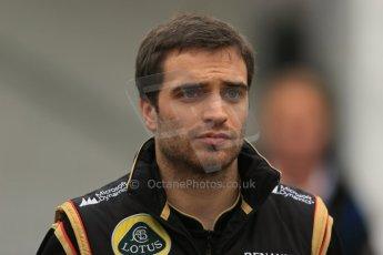 World © Octane Photographic Ltd. F1 Belgian GP - Spa-Francorchamps, Sunday 25th August 2013 - Paddock. Lotus F1 Team E21 reserve driver - Jerome d'Ambrosio. Digital Ref : 0795lw1d0205