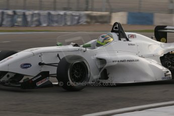 World © Octane Photographic Ltd. BRDC Formula 4 (F4) Qualifying, Donington Park 28th September 2013. MSVF4-13, MGR, Matt Mason. Digital Ref : 0831lw1d8563