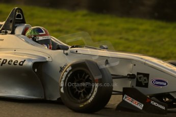 World © Octane Photographic Ltd. Brands Hatch, Race 1, Saturday 23rd November 2013. BRDC Formula 4 Winter Series, MSV F4-13,  – Kieran Vernon - Hillspeed. Digital Ref : 0864lw1d46795