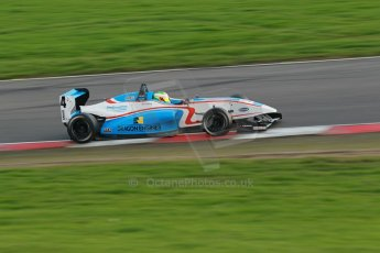 World © Octane Photographic Ltd. Brands Hatch, Race 2, Saturday 23rd November 2013. BRDC Formula 4 Winter Series, MSV F4-13, Sennan Fielding – HHC Motorsport. Digital Ref : 0865lw1d7016