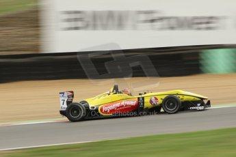 World © Octane Photographic Ltd. British Formula 3 – Brands Hatch. Saturday 10th August 2013 – Qualifying. Sean Gelael – Double R – Dallara F312 HWA Mercedes. Digital Ref : 0776cb1d3609