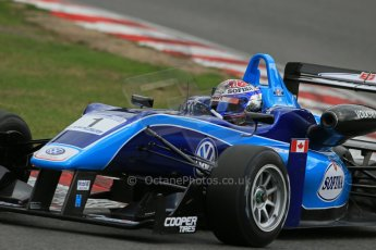 World © Octane Photographic Ltd. British Formula 3 – Brands Hatch. Saturday 10th August 2013 – Qualifying. Nicolas Latifi – Carlin – Dallara F312 Volkswagen. Digital Ref : 0776lw1d6156
