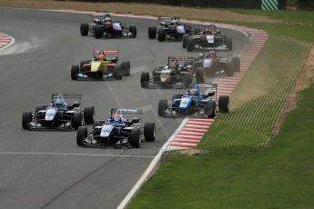 World © Octane Photographic Ltd. British Formula 3 – Brands Hatch. Saturday 11th August 2013 – Race 2. Jazeman Jaafar – Carlin – Dallara F312 Volkswagen. Digital Ref :