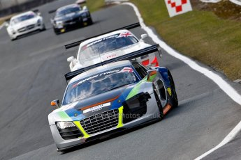 World © Octane Photographic Ltd./Chris Enion. Avon Tyres British GT Championship - Saturday 30th March 2013 Oulton Park – Practice 2. Audi R8 LMS – PE Group Blendini Motorsport – Dominic Evans, Tom Roche. Digital Ref :