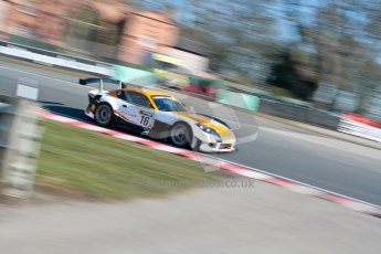 World © Octane Photographic Ltd./Chris Enion. Avon Tyres British GT Championship - Saturday 30th March 2013 Oulton Park – Practice 1. Ginetta G55 GT3 – Ginetta UK Ltd./Chris Enion. – Mike Simpson, Richard Sykes. Digital Ref : 0604ce1d4139