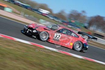 World © Octane Photographic Ltd./Chris Enion. Avon Tyres British GT Championship - Saturday 30th March 2013 Oulton Park – Practice 1. Porsche 997 GT3-R – Trackspeed – Richard Westbrook, Gregor Fiskin. Digital Ref : 0604ce1d4312
