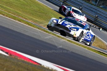 World © Octane Photographic Ltd./Chris Enion. Avon Tyres British GT Championship - Saturday 30th March 2013 Oulton Park – Practice 1. Aston Martin V12 Vantage GT3 – Beechdean Motorsport – Jonathan Adams, Andrew Howard. Digital Ref : 0604ce1d4769