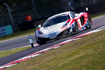 World © Octane Photographic Ltd./Chris Enion. Avon Tyres British GT Championship - Saturday 30th March 2013 Oulton Park – Practice 1. McLaren MP4-12C GT3 – United Autosports – Mark Blundell, Roger Wills. Digtal Ref : 0604ce1d4830