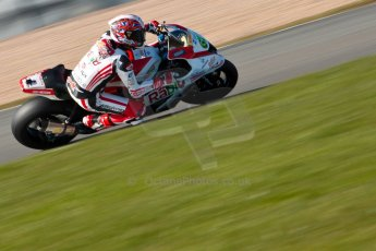 World © Octane Photographic Ltd. MCE Insurance British Superbike Championship (BSB) Test day – Donington Park, 14th March 2013. Shane Byrne – Rapid Solicitors Kawasaki. Digital Ref : 0588ce1d3785