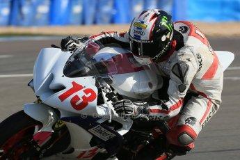 World © Octane Photographic Ltd. Motorpoint British Supersport Championship Test day – Donington Park, 14th March 2013. Jake Newstead. Digital Ref : 0589lw1d4803