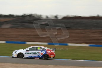 World © Octane Photographic Ltd. Thursday 21st March 2013. Dunlop MSA British Touring Car Championship  (BTCC) Media Day – Donington Park. Sam Tordoff – MG KX Momentum Racing – MG6 GT. Digital Ref : 0603lw1d3330