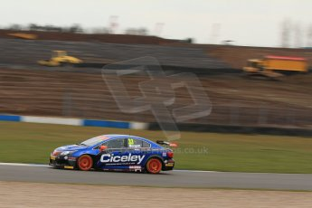 World © Octane Photographic Ltd. Thursday 21st March 2013. Dunlop MSA British Touring Car Championship  (BTCC) Media Day – Donington Park. Adam Morgan – Ciceley Racing – Toyota Avensis. Digital Ref : 0603lw1d3334