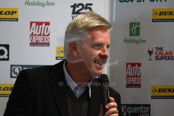 World © Octane Photographic Ltd. Thursday 21st March 2013. Dunlop MSA British Touring Car Championship (BTCC) Media Day – ITV Commentator Steve Ryder. Digital Ref : 0601cj7d0100