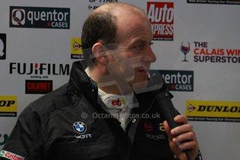 World © Octane Photographic Ltd. Thursday 21st March 2013. Dunlop MSA British Touring Car Championship  (BTCC) Media Day – Donington Park. Rob Collard – eBay Motors - BMW 1 Series. Digital Ref : 0601cj7d0758