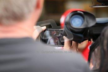 World © Octane Photographic Ltd. GP2 British GP, Silverstone, Thursday 27th June 2013. Felipe Massa - Scuderia Ferrari - Shell Towcester Pit Stop. Digital Ref : 0723lw1d9822