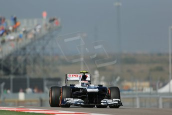 World © Octane Photographic Ltd. F1 USA GP - Austin, Texas, Circuit of the Americas (COTA), Friday 15th November 2013 - Practice 1. Williams FW35 - Valtteri Bottas. Digital Ref : 0853lw1d3230