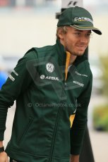 World © Octane Photographic Ltd. F1 USA GP, Austin, Texas, Circuit of the Americas (COTA), Sunday 17th November 2013 - Paddock. Caterham F1 Team - Charles Pic. Digital Ref : 0859lw1d5688