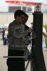 World © Octane Photographic Ltd. F1 USA GP, Austin, Texas, Circuit of the Americas (COTA), Sunday 17th November 2013 - Paddock. Vodafone McLaren Mercedes - Sergio Perez. Digital Ref : 0859lw1d5772