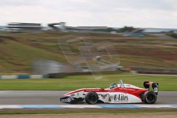 World © Octane Photographic Ltd. Donington Park General Test, Matt Bell, Douglas Motorsport, BRDC Formula 4, MSV F4-13. Thursday 19th September 2013. Digital Ref : 0829lw1d47971