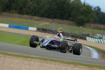 World © Octane Photographic Ltd. Donington Park General Test, Thursday 19th September 2013.Alice Powell - Carlin - World Series Renault (WSR). Digital Ref : 0829lw1d7778