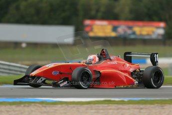 World © Octane Photographic Ltd. Donington Park General Test, Max Cornelius - Chris Dittmann Racing - BRDC Formula 4 - MSV F4-13. Thursday 19th September 2013. Digital Ref : 0829lw1d7846