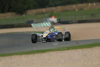 World © Octane Photographic Ltd. Donington Park test day 26th September 2013. BRDC Formula 4, MSV F4-13, HHC Motorsport, Gustavo Lima. Digital Ref : 0830lw1d8066