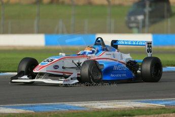 World © Octane Photographic Ltd. Donington Park test day 26th September 2013. BRDC Formula 4, MSV F4-13, HHC Motorsport, Charlie Robertson. Digital Ref : 0830lw1d8271 :