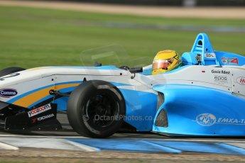 World © Octane Photographic Ltd. Donington Park test day 26th September 2013. BRDC Formula 4, MSV F4-13, Douglas Motorsport, Malgosia Rdest. Digital Ref : 0830lw1d8404