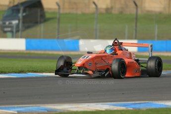 World © Octane Photographic Ltd. Donington Park test day 26th September 2013. BRDC Formula 4, MSV F4-13, Hillspeed, Seb Morris. Digital Ref : 0830lw1d8577