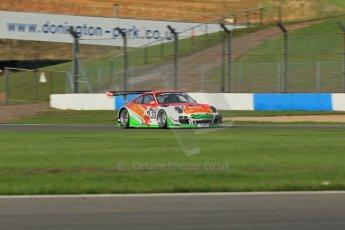 World © Octane Photographic Ltd. Donington Park test day 26th September 2013. Porsche 997 GT3-R – Trackspeed – Phil Keen, Jon Minshaw. Digital Ref : 0830lw1d8651