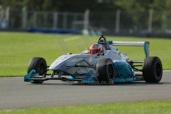 World © Octane Photographic Ltd. Donington Park test day 26th September 2013. BRDC Formula 4, MSV F4-13, MGR, Pietro Fittipaldi. Digital Ref : 0830lw1d8783