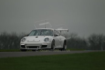 World © Octane Photographic Ltd. Donington Park General Unsilenced Test, Thursday 28th November 2013. Porsche GT3 Cup. Digital Ref : 0870cb1d8169