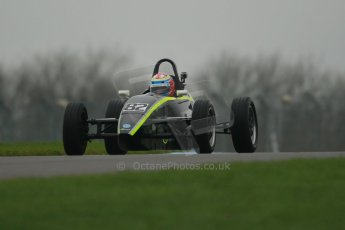 World © Octane Photographic Ltd. Donington Park General Unsilenced Test, Thursday 28th November 2013. Formula Vee – Alex T W Jones. Digital Ref : 0870cb1d8199