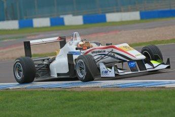 World © Octane Photographic Ltd. Donington Park General Unsilenced Test, Thursday 28th November 2013. FIA Formula 3 (F3) European Championship – Spike Goddard – T-Sport – Dallara F312 ThreeBond Nissan. Digital Ref : 0870cb1dx8419