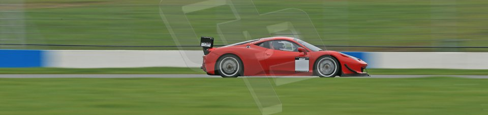 World © Octane Photographic Ltd. Donington Park General Unsilenced Test, Thursday 28th November 2013. Ferrari 458 BAMD - McGuinness/Nelson. Digital Ref : 0870cb1dx8509