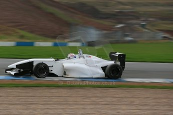 World © Octane Photographic Ltd. Donington Park general unsilenced testing October 31st 2013. BRDC Formula 4 (F4) Championship, MSV F4-013 - Jordan Albert. Digital Ref : 0849lw1d1996
