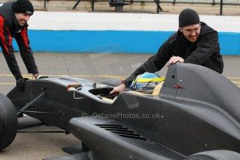 World © Octane Photographic Ltd. Donington Park General Unsilenced Testing 5th December 2013. Formula Renault 2.0, MGR Motorsport, Dean Smith. Digital ref : 0873cb1d8651
