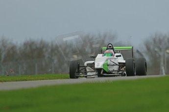 World © Octane Photographic Ltd. Donington Park General Unsilenced Testing 5th December 2013. BRDC Formula 4 (F4) Championship. MSV F4-013, MGR Motorsport, Hernan Fallas. Digital ref : 0873cb1dx8717