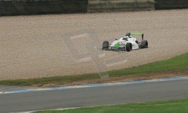 World © Octane Photographic Ltd. Donington Park General Unsilenced Testing 5th December 2013. BRDC Formula 4 (F4) Championship. MSV F4-013, MGR Motorsport, Hernan Fallas. Digital ref : 0873cb1dx8756