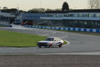 World © Octane Photographic Ltd. Donington Park general testing, Thursday 7th November 2013, Ford Capri - Paul Pochciol. Digital Ref : 0850lw1d2219