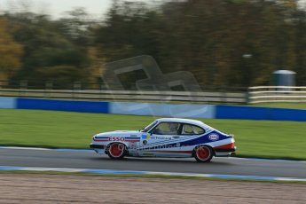World © Octane Photographic Ltd. Donington Park general testing, Thursday 7th November 2013, Ford Capri - Paul Pochciol. Digital Ref : 0850lw1d2232