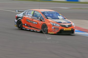 World © Octane Photographic Ltd. Donington Park General Un-silenced Testing, Thursday May 15th 2013. Frank Wrathall - Toyota Avensis - BTCC (British Touring car Championship). Digital Ref : 0676cb1d3630