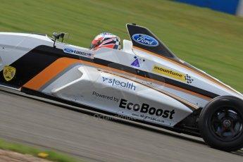 World © Octane Photographic Ltd. Donington Park General Un-silenced Testing, Thursday May 15th 2013. Camren Kaminsky - British Formula Ford - JTR Racing. Digital Ref : 0676cb7d9620
