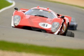 World © Octane Photographic Ltd/Chris Enion. Donington Park General un-silenced test 25th April 2013. Martin Stretton - Lola T70. Digital Ref : 0641ce7d6914