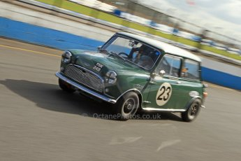 World © Octane Photographic Ltd. Donington Park General un-silenced testing, April 30th 2013. Austin Mini Cooper S - Jonathan Proctor. Digital Ref : 0643cb7d7440