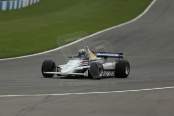 World © Octane Photographic Ltd. Donington Park General un-silenced testing, April 30th 2013. March 821 - Rothmans - Mark Dwyer, Historic F1. Digital Ref : 0643lw1d6890