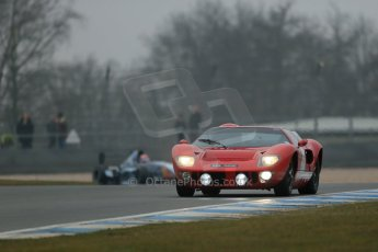 World © Octane Photographic Ltd. General unsilenced testing – Donington Park Thursday 11th April 2013. Ford GT40 Mk.I. Digital ref : 0630lw1d1862