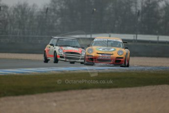 World © Octane Photographic Ltd. General unsilenced testing – Donington Park Thursday 11th April 2013. Justin Sherwood - Team Parker Racing - Porsche 997. Digital ref : 0630lw1d2080